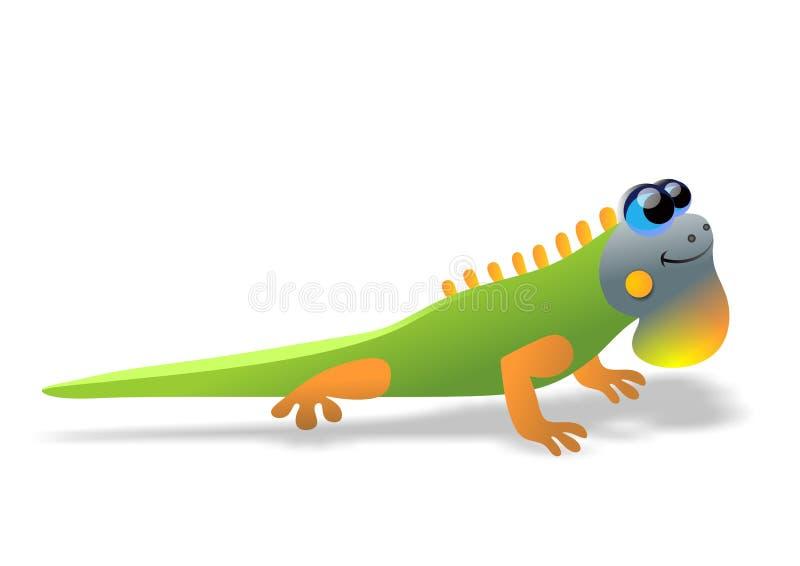 Iguana ilustracja wektor