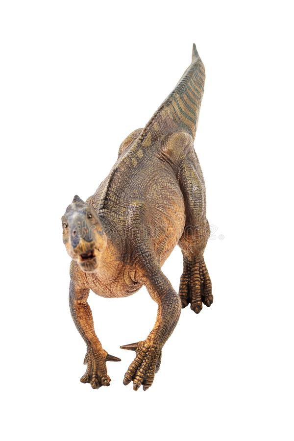 Iguanodon, δεινόσαυρος στο άσπρο υπόβαθρο στοκ φωτογραφία με δικαίωμα ελεύθερης χρήσης