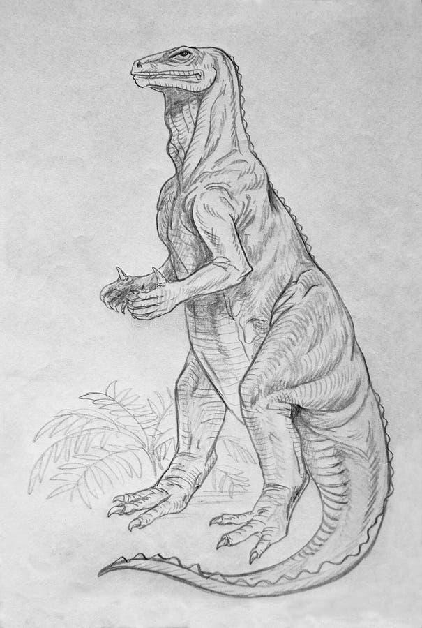 Download Iguanodon Dinosaur Portrait Stock Illustration - Image: 32505295