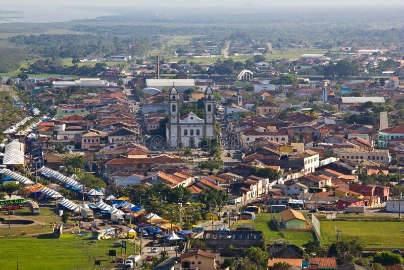 Iguape - dal gör Ribeira - Sao Paulo - Brasilien royaltyfri fotografi