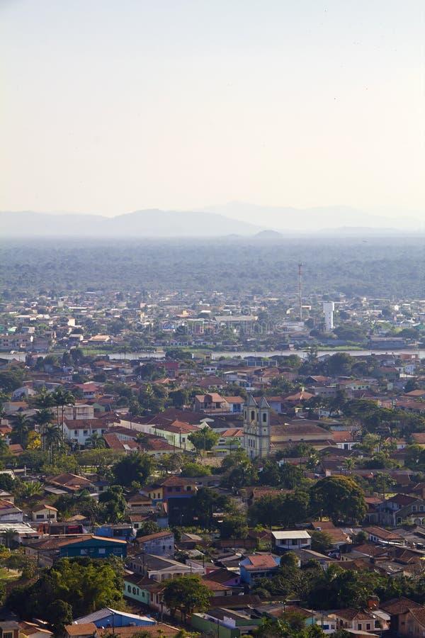 Iguape - valle haga Ribeira - Sao Paulo - el Brasil imagen de archivo