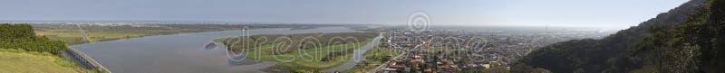 Iguape - visión panorámica fotos de archivo