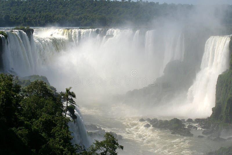 iguassu πτώσεων της Βραζιλίας στοκ φωτογραφία με δικαίωμα ελεύθερης χρήσης