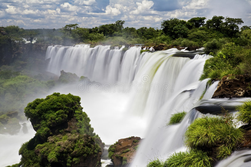 iguassu πτώσεων στοκ φωτογραφία με δικαίωμα ελεύθερης χρήσης