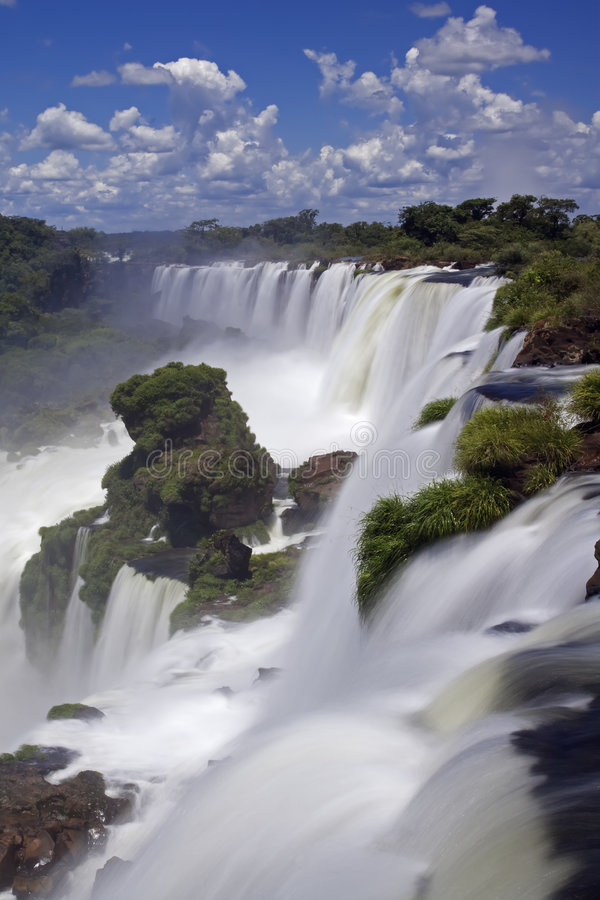 Download Iguassu Falls Is The Largest Series Of Waterfalls On The Planet Stock Photo - Image: 4556932