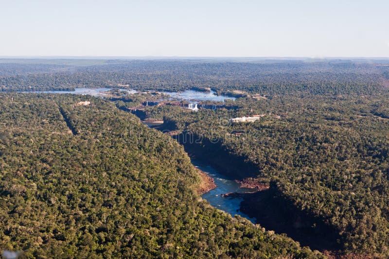 Download Iguassu Falls Canyon Argentina And Brazil Stock Photo - Image of vegetation, largest: 23509904