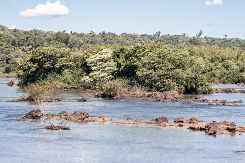 Iguassu Fluss stockbilder
