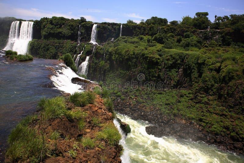 Download Iguassu (Iguazu; Igua�u) Falls - Large Waterfalls Royalty Free Stock Image - Image: 3835736