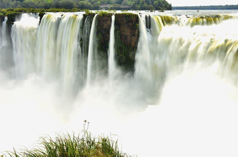 Iguassu siklawa zdjęcie royalty free