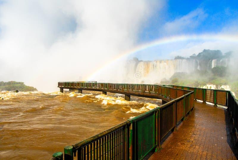 Iguassu spadki - Brazylia zdjęcie royalty free