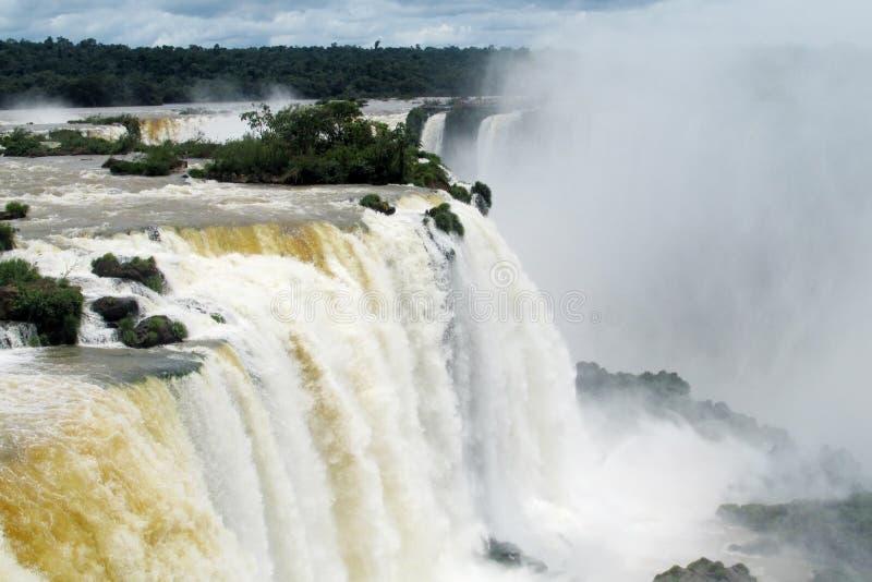 Iguassu waterfall royalty free stock images
