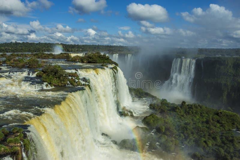 Iguassudalingen - het Nationale Park van Iguassu royalty-vrije stock foto's