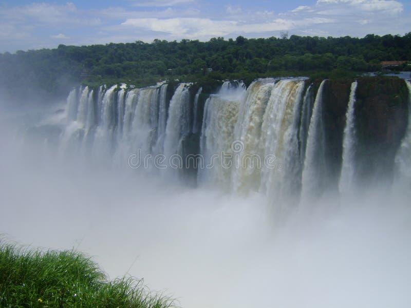 Iguazúwaterkracht stock foto