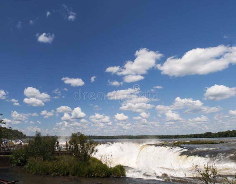 Iguazu, Argentyna, Ameryka Południowa zdjęcia royalty free
