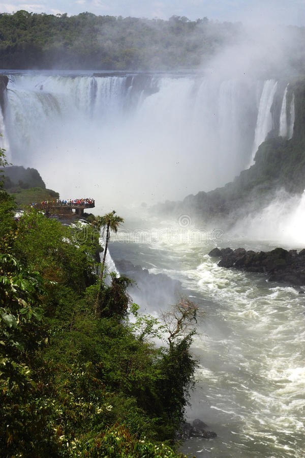 Download Iguazu Falls stock image. Image of landscape, brasil - 12501609