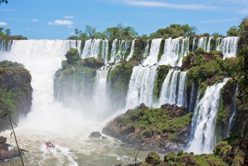Iguazu Falls fotografie stock libere da diritti