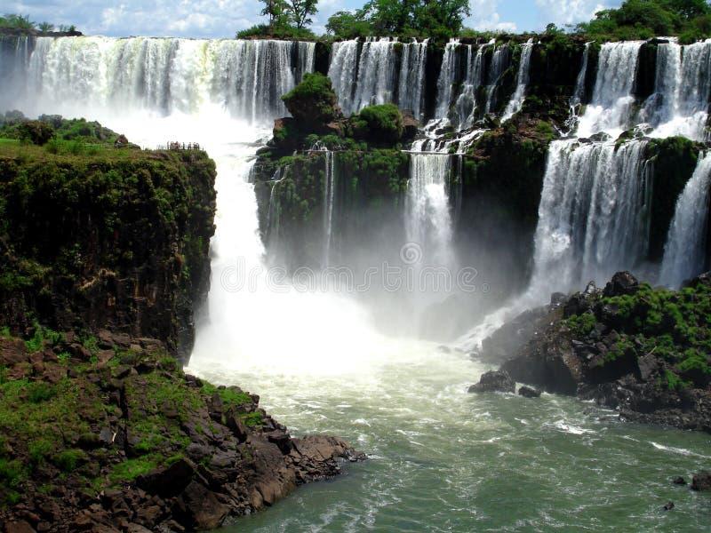 Iguazu Falls image libre de droits