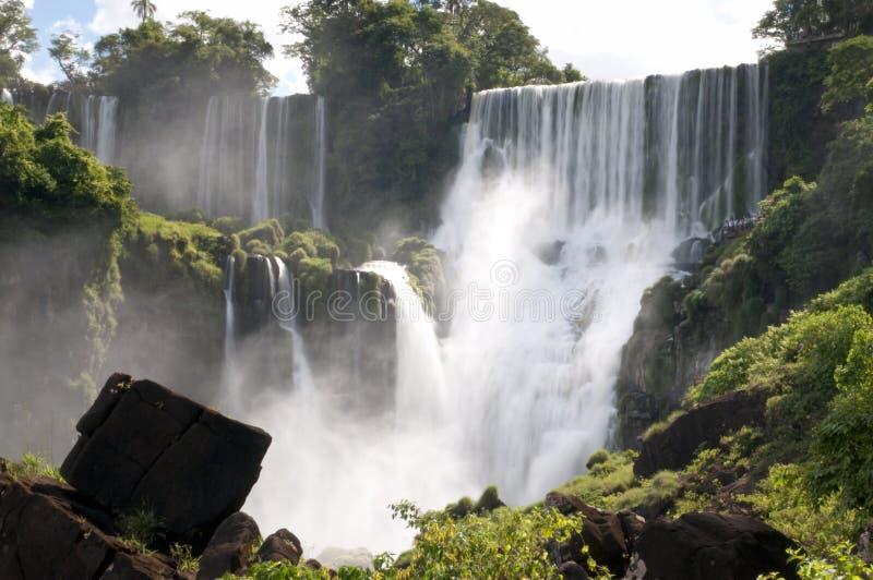 Iguazu Falls lizenzfreies stockbild