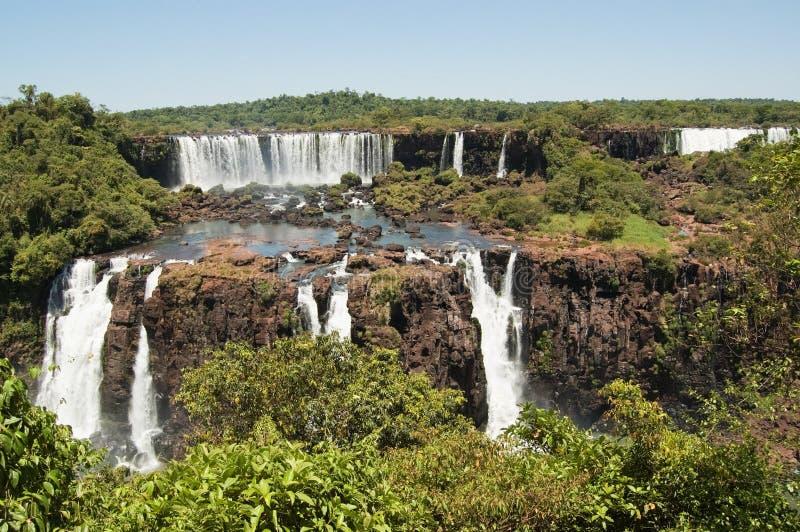Iguazu Falls royaltyfria bilder