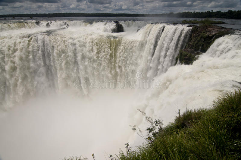 Iguazu Falls royaltyfri fotografi