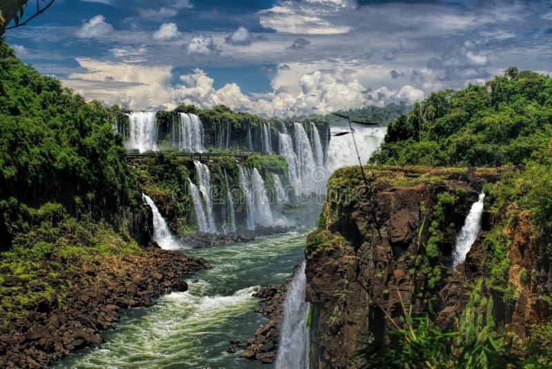 Iguazu Falls fotos de archivo libres de regalías