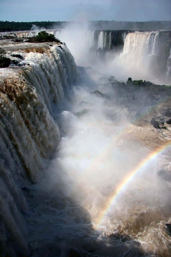 Download Iguazu Falls stock image. Image of flow, rainbow, park - 5102291