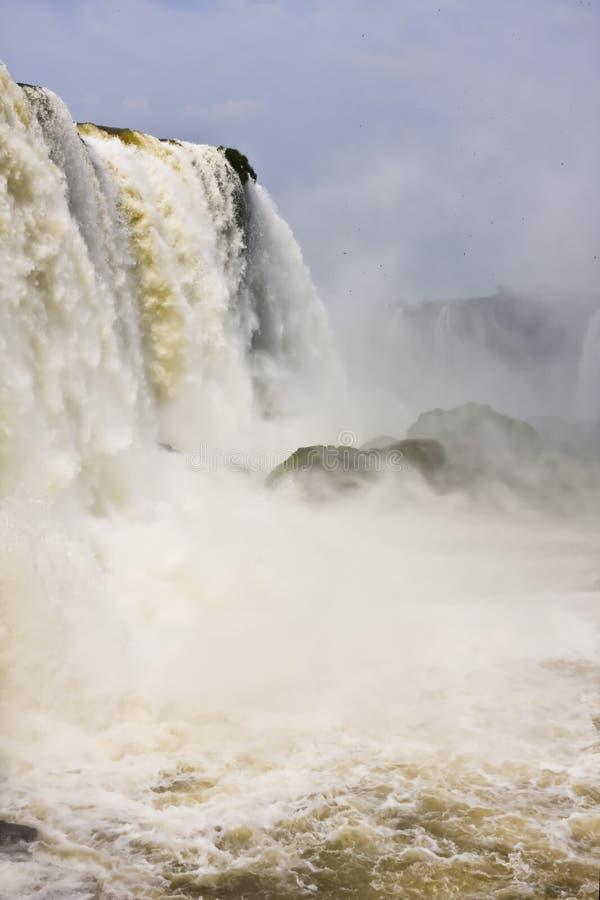 Iguazu Falls lizenzfreie stockfotos