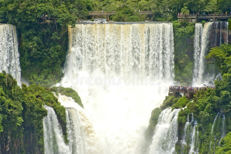 Iguazu Falls Argentina royaltyfria bilder