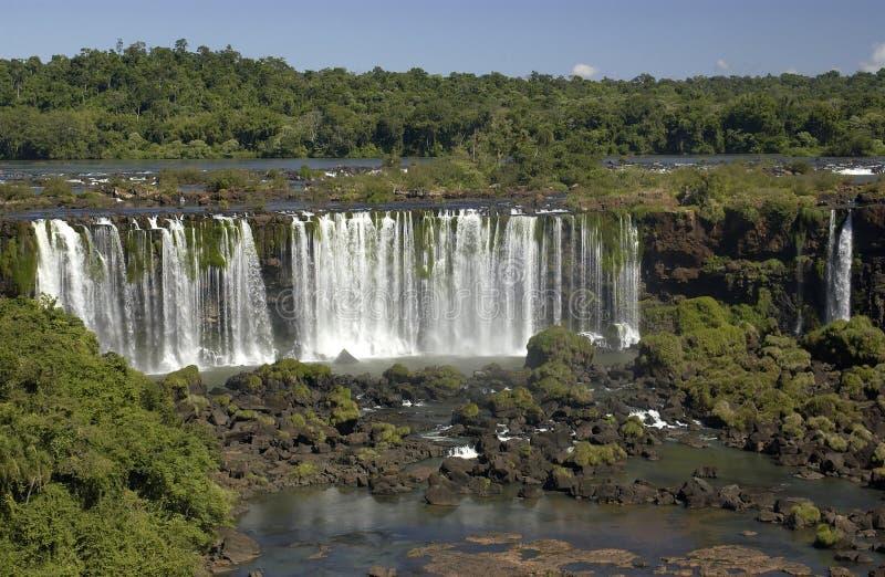 Iguazu Falls - Argentina / Brazil Border stock photo