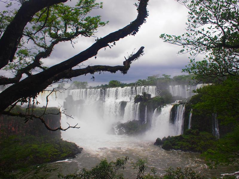 Download Iguazu Falls, Argentine image stock. Image du europe - 77160501