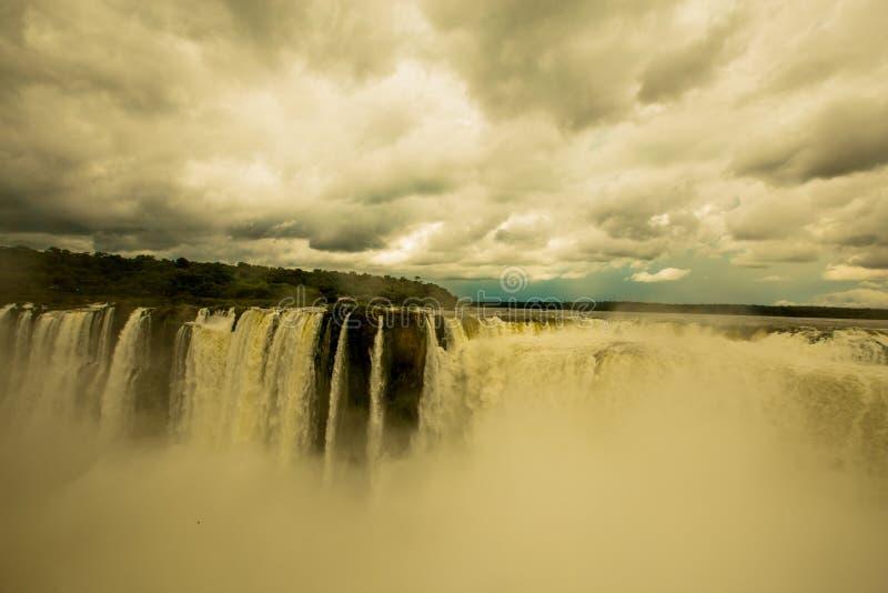 Download Iguazu Falls stock image. Image of south, fall, green - 36974441