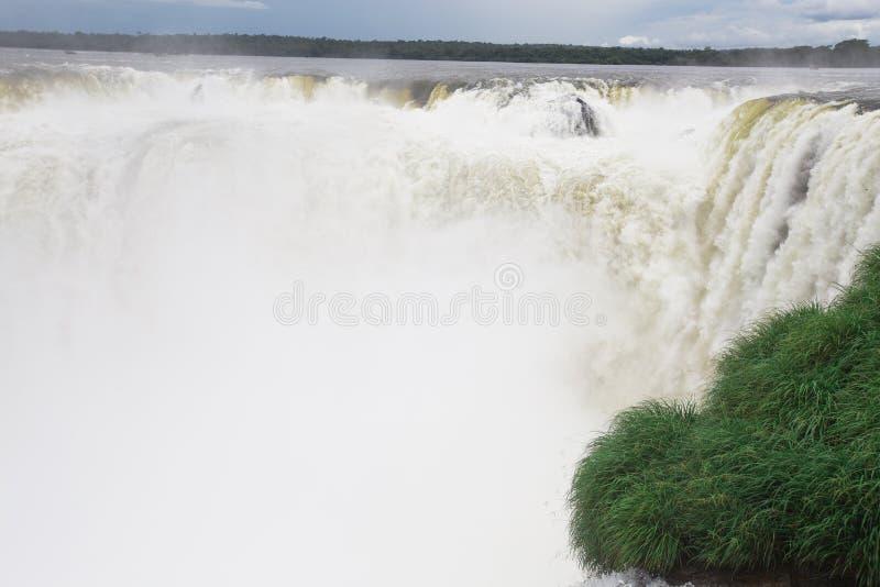 Download Iguazu Falls stock photo. Image of rock, fall, white - 36974948