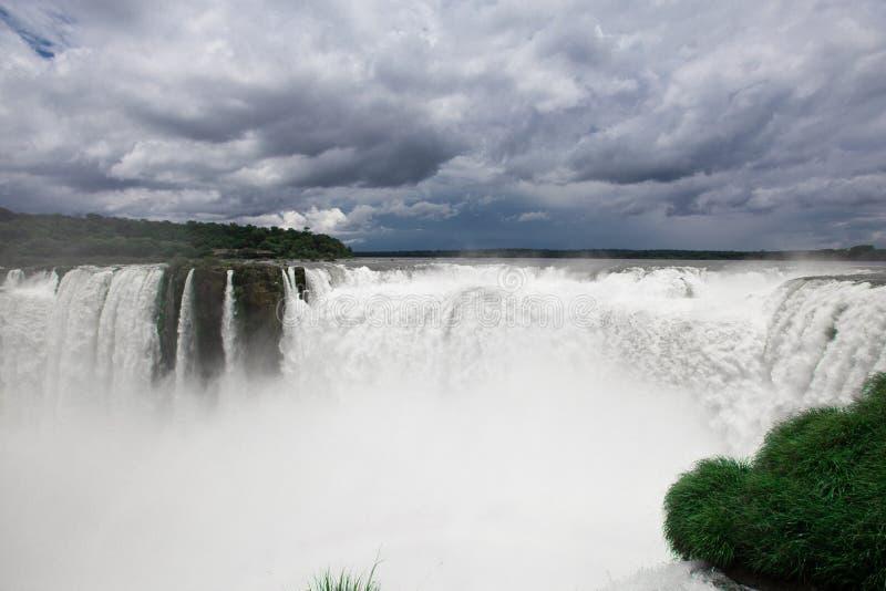 Download Iguazu Falls stock image. Image of rain, white, nature - 36983017