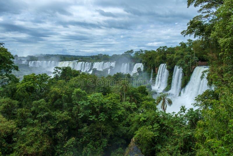 Iguazu Falls royalty free stock photos