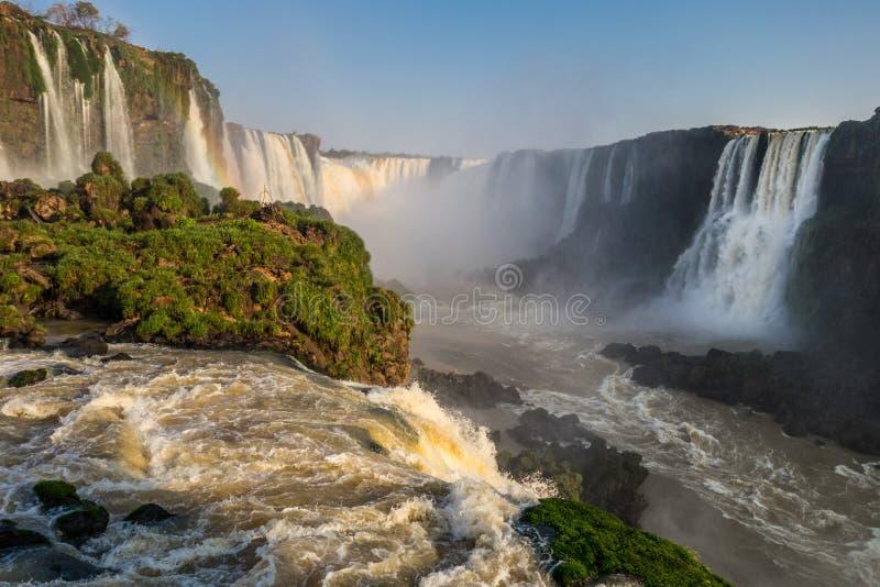 Iguazu Falls (Brazil) stock photography