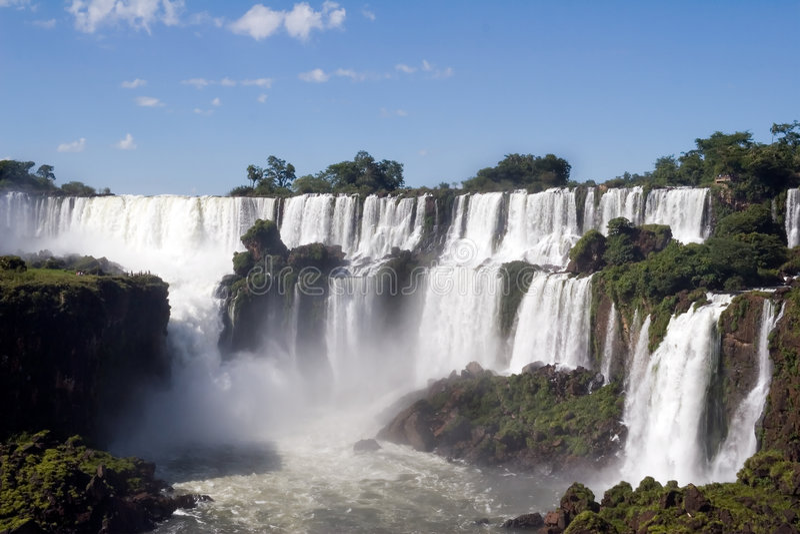Iguazu Falls de la Argentina imagen de archivo