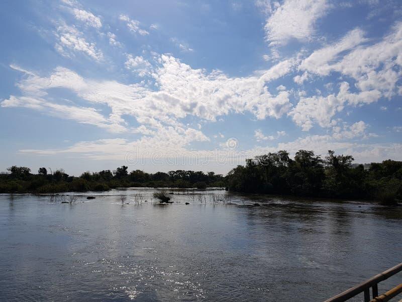 Iguazu Falls immagini stock libere da diritti