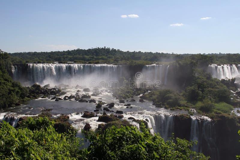 Iguazu Falls, el Brasil fotos de archivo libres de regalías