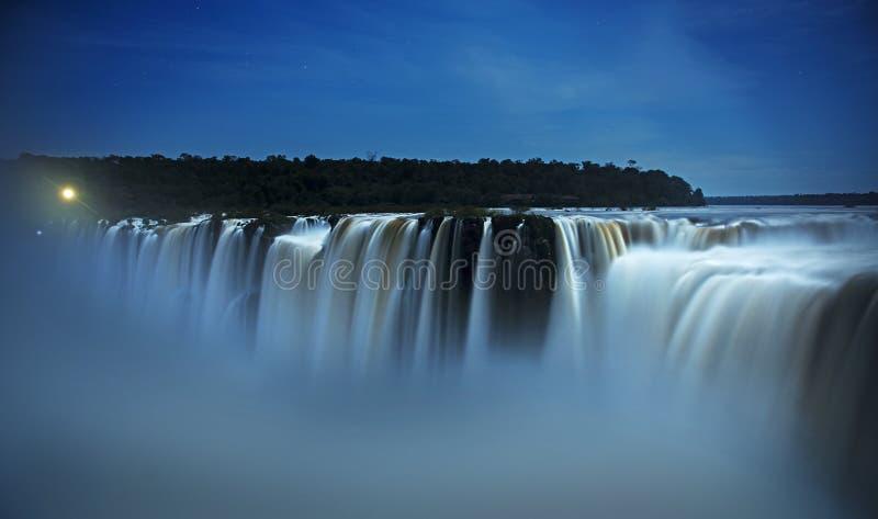 Iguazu Falls jäkelhals, Garganta del Diablo royaltyfri foto