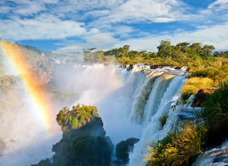 Iguazu Falls, la Argentina. imágenes de archivo libres de regalías