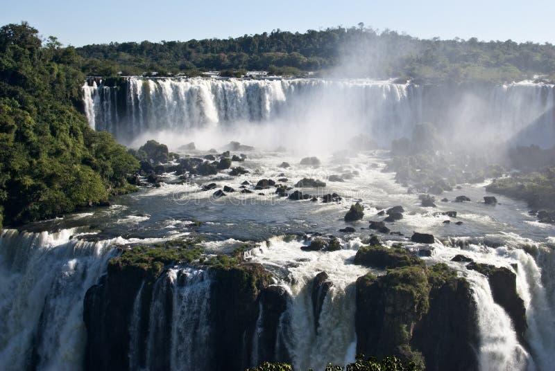 Iguazu Falls, la Argentina foto de archivo