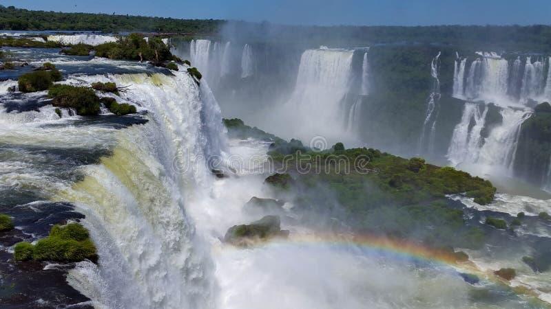 Iguazu Falls-1 fotos de stock royalty free