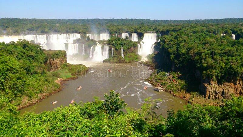 Iguazu spada Argentyna - Misiones - obraz stock