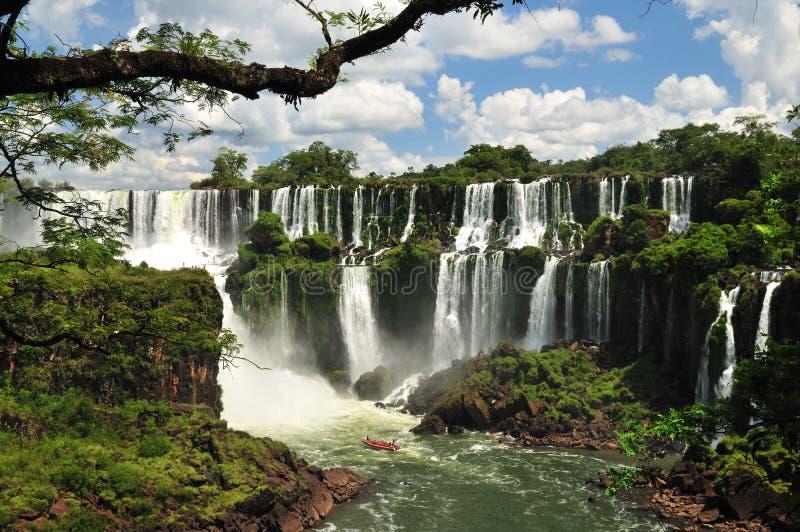 Iguazu Spadek zdjęcie stock