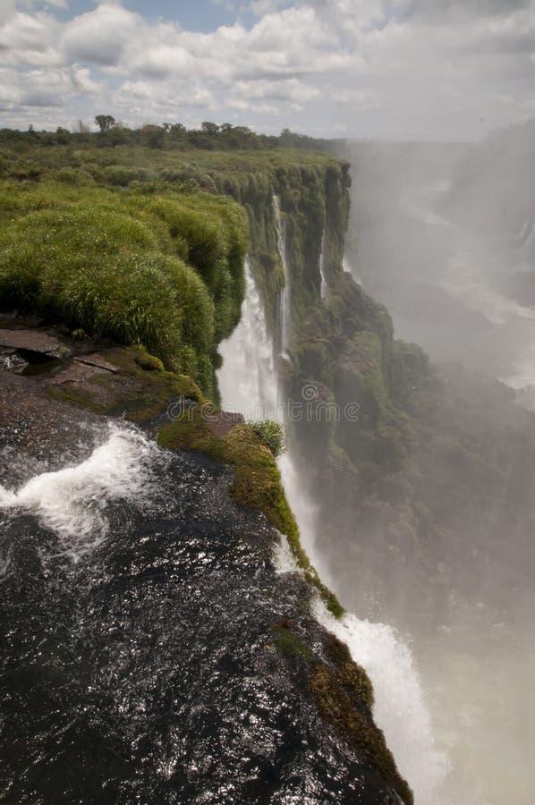 Iguazu spadki zdjęcia royalty free