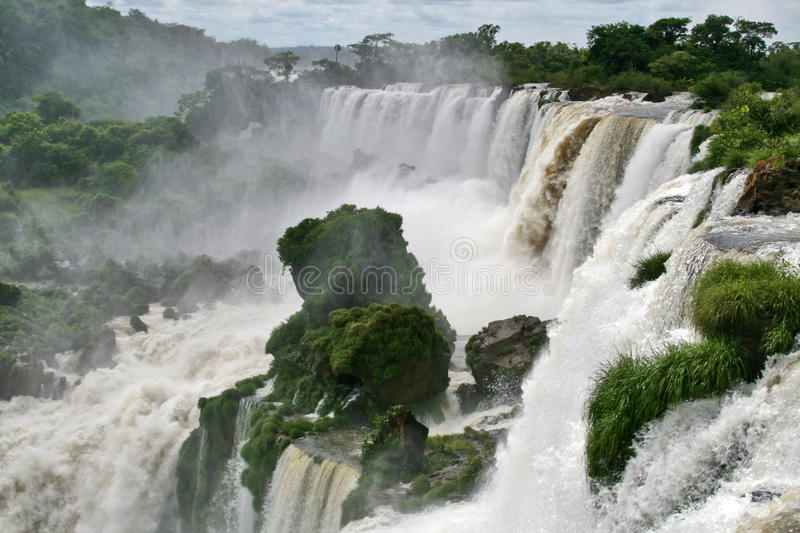 Download Iguazu waterfall stock image. Image of brazilian, american - 16620995