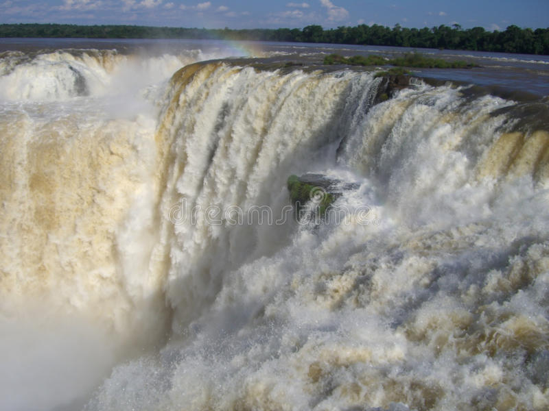 Download Iguazu Waterfalls stock photo. Image of beauty, impressive - 12342162