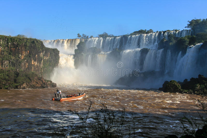 Download Iguazu Waterfalls. View From Argentina Stock Image - Image of america, jungle: 83715429
