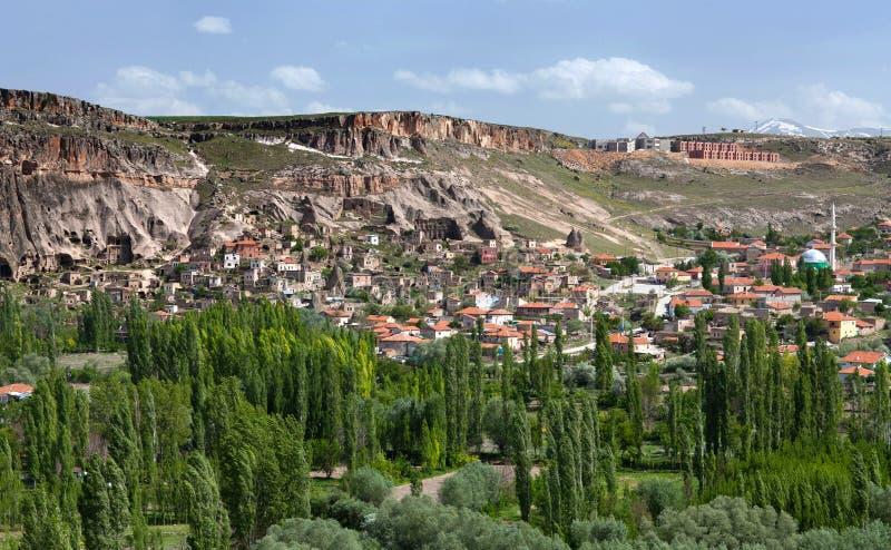 Ihlara-Tal in Cappadocia, die Türkei lizenzfreie stockfotografie