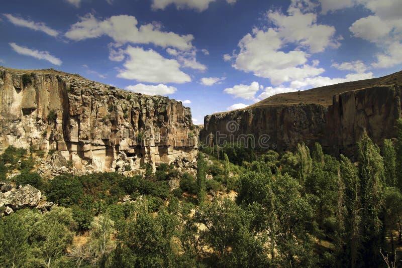 Ihlara-Tal, die Türkei lizenzfreies stockbild